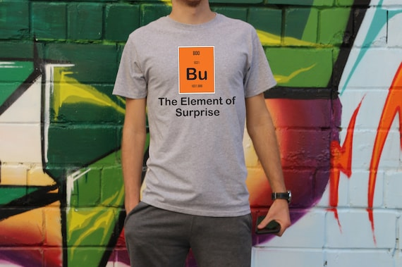 Boo The Element Of Surprise Halloween Party Costume T Shirt Etsy