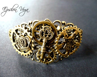 Steampunk Alice in Wonderland bracelet