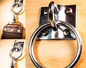 Steel Strop Hanger / Custom Leather Strop / Wide Leather Strop  / Tool Strop / Sharpening Strop / Strop Leather Knife /Barber Strop/Strop