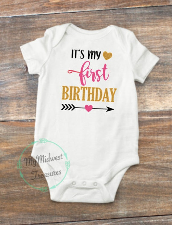 First Birthday Outfit Girl Its My Baby