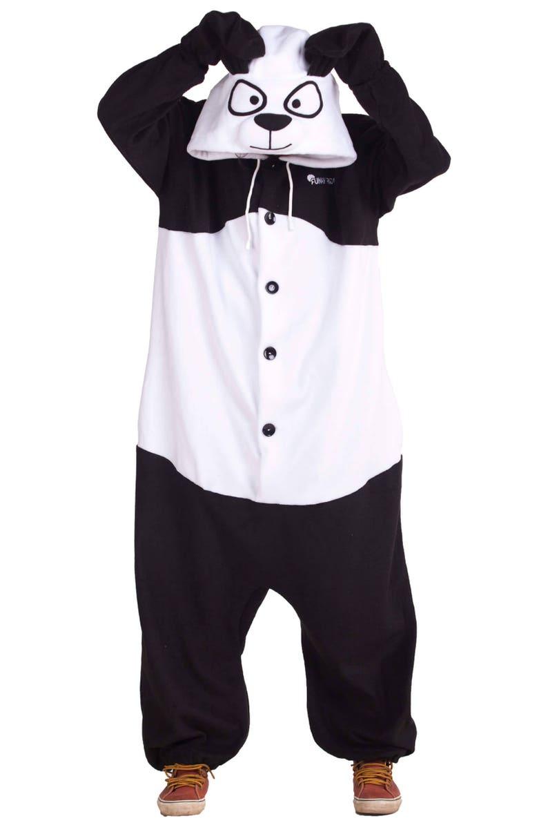 fb1d3bb8bb94e4 Panda Kigurumi-Custom Handmade-Anti-pill polarowa | Etsy