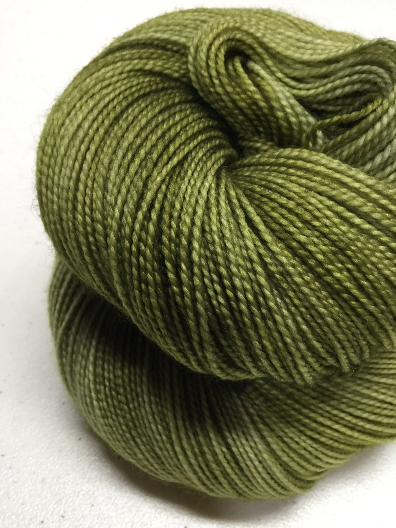 approx 463 yds100 grams each Kettle Dyed SPANISH MOSS Superwash 7525 Merino Nylon Fingering Yarn Sock Yarn