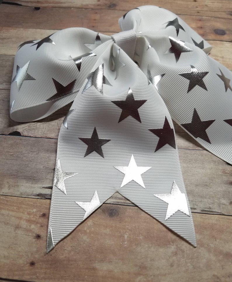 Cheerleaders Practice Bow Cheering Cheerleading Bow Cheer Practice Cheerleading Cheer Cheer Bow Stars Cheer Bow Oversized Cheer Bow