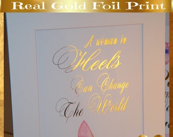 Gift for Her, Gift-for-Wife, Gift-for-Woman, Fashion Wall Art, Gift Birthday Wife, Pink Mom Gift, BFF Gift Purple Mom Gift, Girlfriend Gift