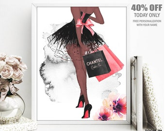 a62bfe351472 Black Fashion Decor