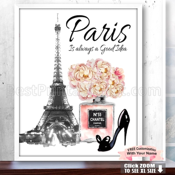 Paris Is Always A Good Idea Wall Art Paris Bedroom Print Etsy