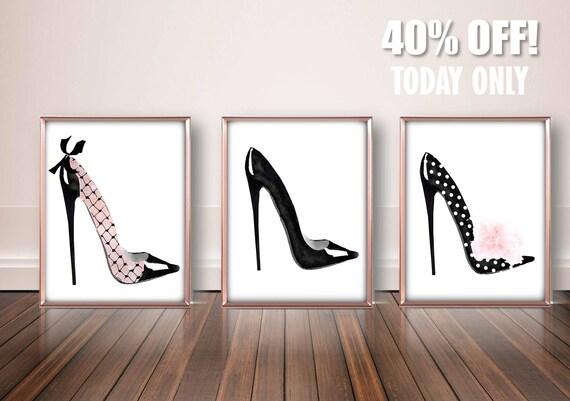 Attrayant High Heels Fashion Wall Art Designer High Heels Art Sexy | Etsy