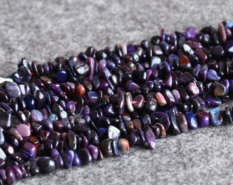 Genuine Natural Dark Purple Sugilite Loose Beads South