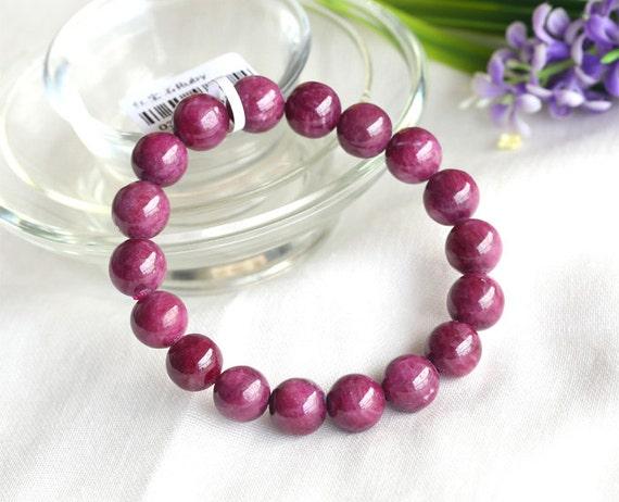 Natural Pink Morganite Round Gemstones Ruby Loose Beads 15/'/' 4mm-14mm AAA++