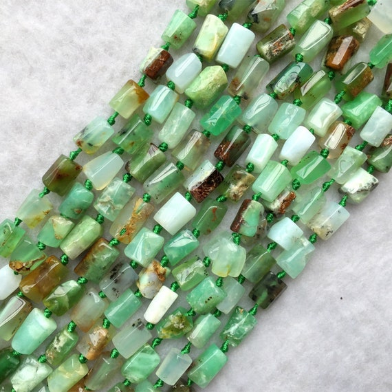 GB4 Craft Supplies Natural Green Aventurine Small Chip Beads 35 Inch Strand
