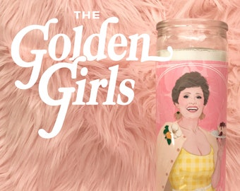 The Golden Girls Blanche Devereaux // 7 Day Altar Candle, Saint Candle