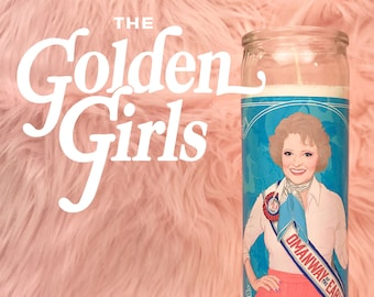 The Golden Girls Rose Nylund // 7 Day Altar Candle, Saint Candle