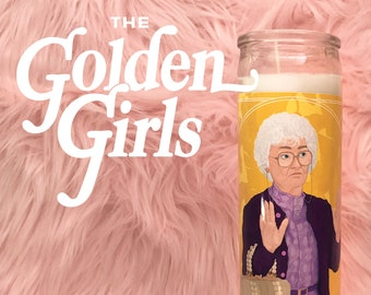 The Golden Girls Sophia Petrillo // 7 Day Altar Candle, Saint Candle