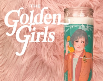 The Golden Girls Dorothy Zbornak // 7 Day Altar Candle, Saint Candle