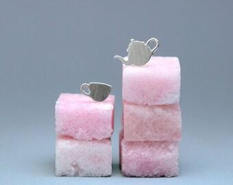 Afternoon Tea Stud Earrings