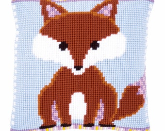 Vervaco Counted Cross Stitch Kit Ringmaster Cushion Front PN0153900