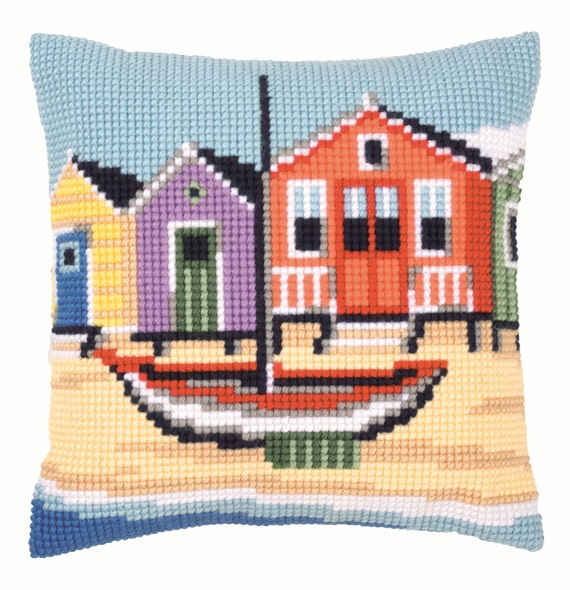Vervaco Boat Cushion Cross Stitch Kit