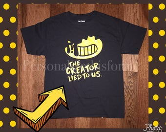 FREE SHIPPING The creator lied to us shirt