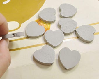 grey hearts etsy