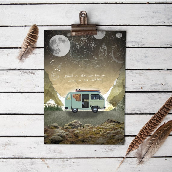 Van Adventure print