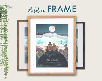 Your print, professionally framed.