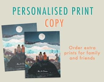 Copy my print   Personalised Print Extra Copy