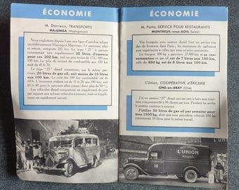 Citroen / what we think the advertising brochure diesel 1938