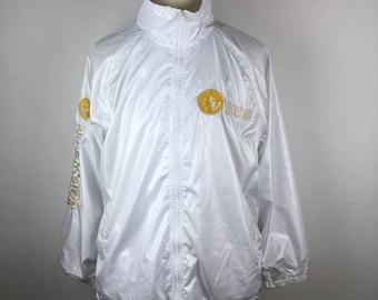 920eef94e13d Vintage A.Versace Embroidered Medusa Logo Jacket