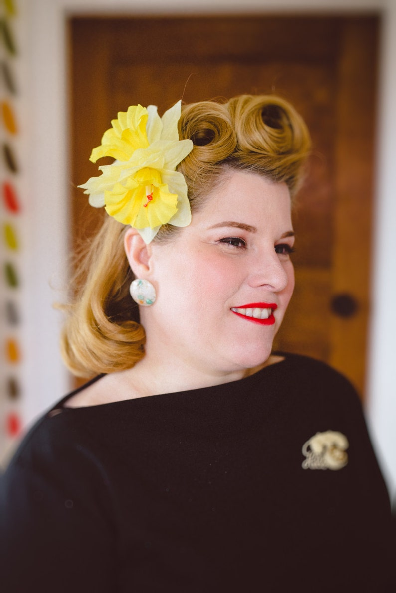 Victory Rolls The Easy Way Vintage Hair Tutorial Sheet Etsy
