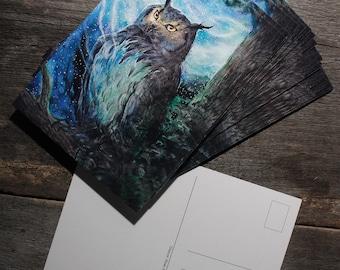 Starbringer postcard print