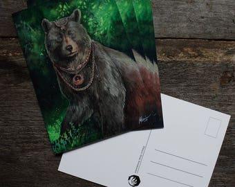 Käätyohto postcard print