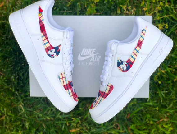 Custom Mickey Mouse Air Force 1 | Etsy
