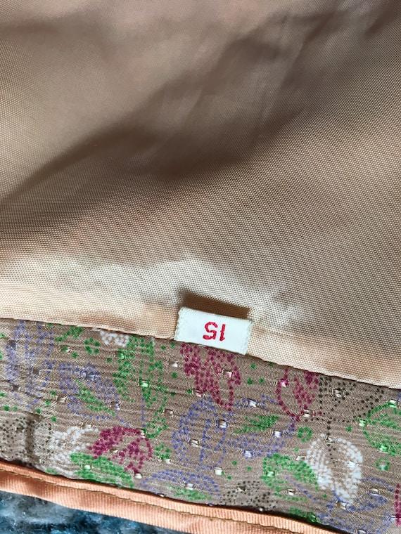 Vintage silk knot button pajama set - image 8