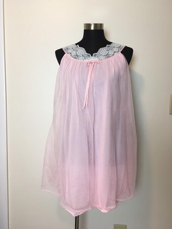 Vintage lace Radcliffe lingerie peignoir set - image 5