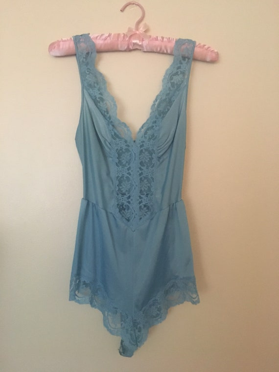 Vintage OLGA lingerie teddy