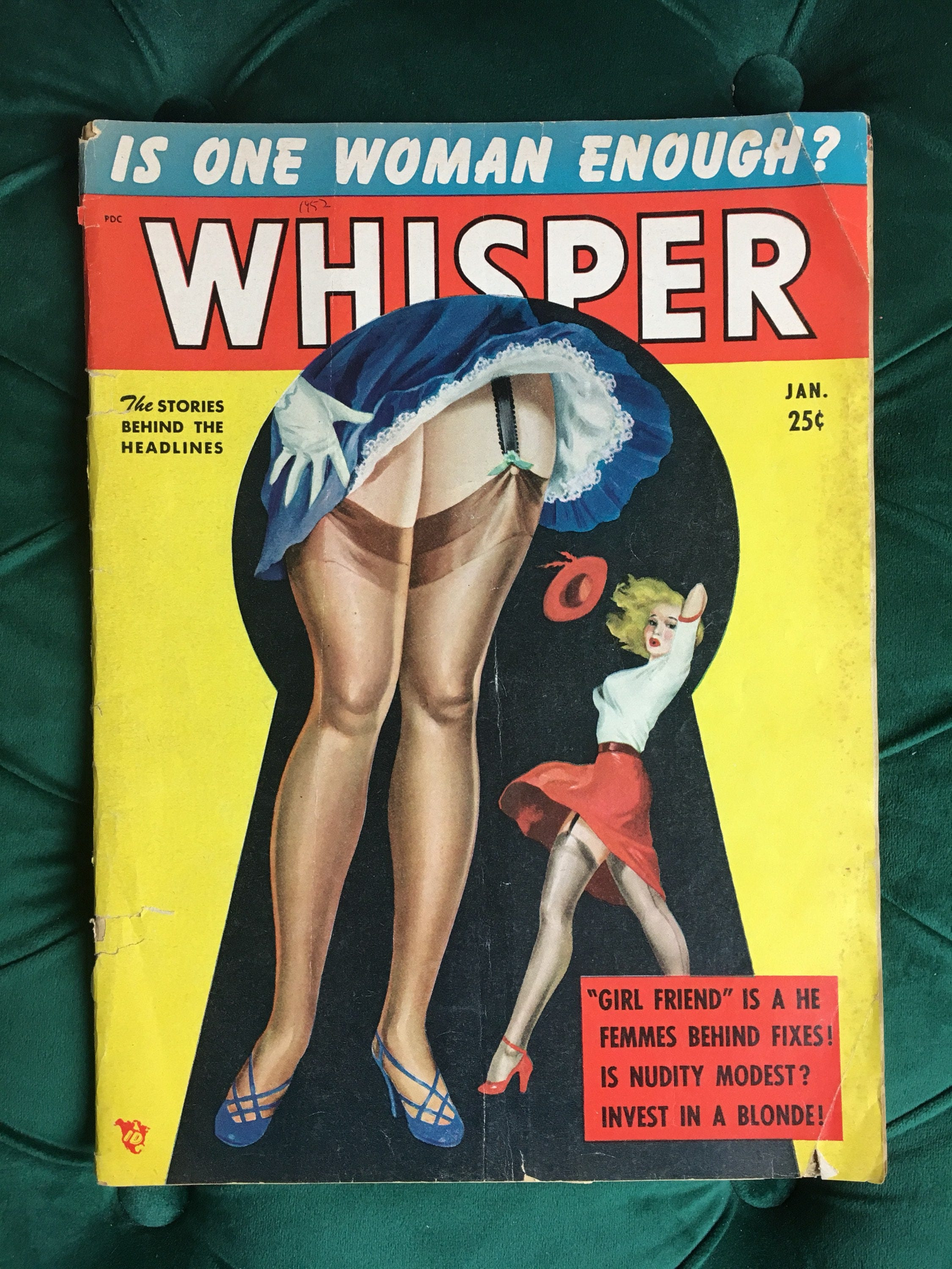 Whisper pinup magazine!