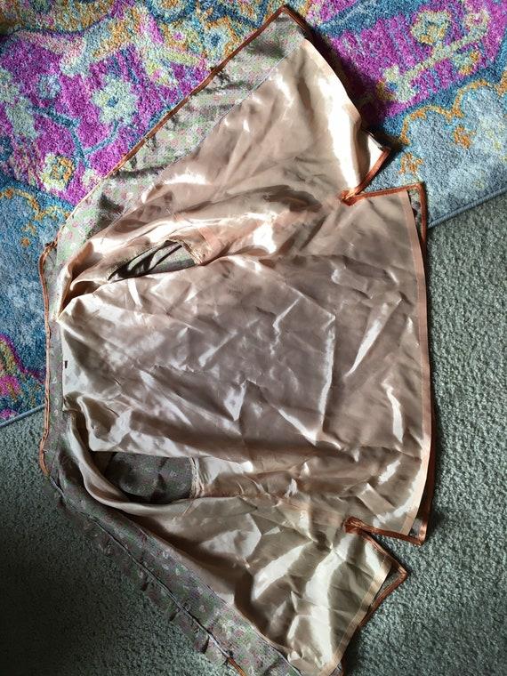 Vintage silk knot button pajama set - image 9