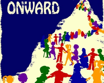 Women's March on Washington Onward Poster 2017