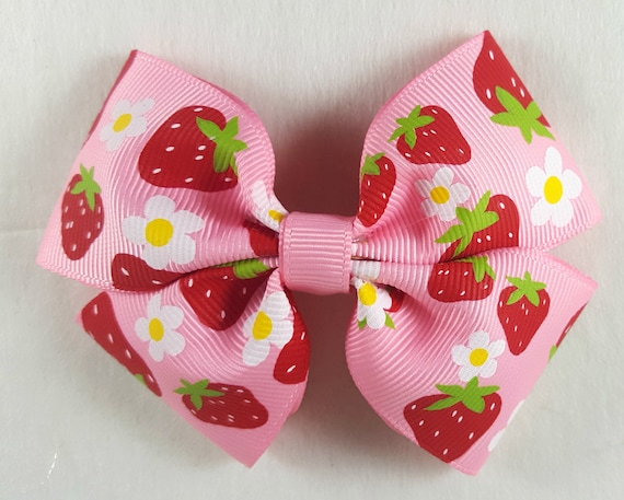 Hair clips for kids back to school hair accessory 3.5 inch Pinwheel Bow Hot Pink Pinwheel Bow toddler hair accessory