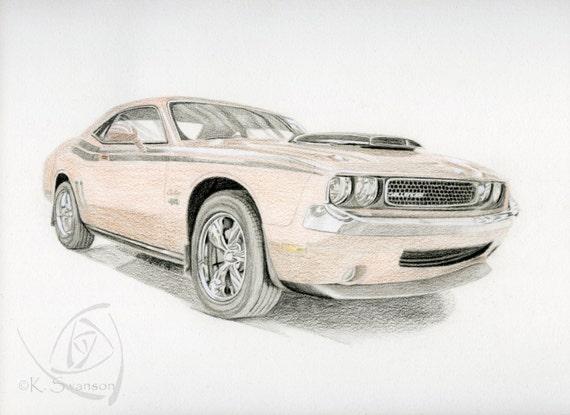 Benutzerdefinierte Auto Zeichnung Custom Zeichnung Classic Etsy
