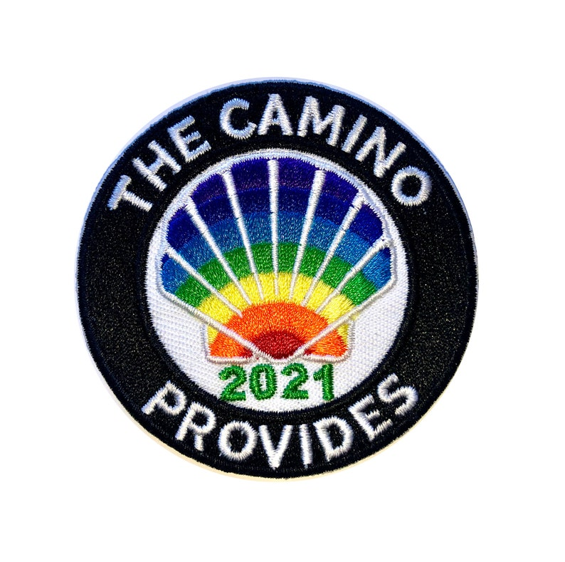 The Camino Provides Official Patch for Camino De Santiago 2021 limited edition