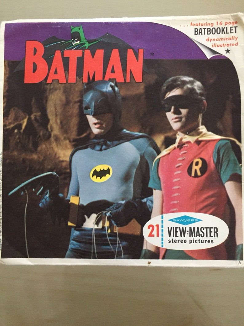 3 Reels SET Batman Returns Classic ViewMaster