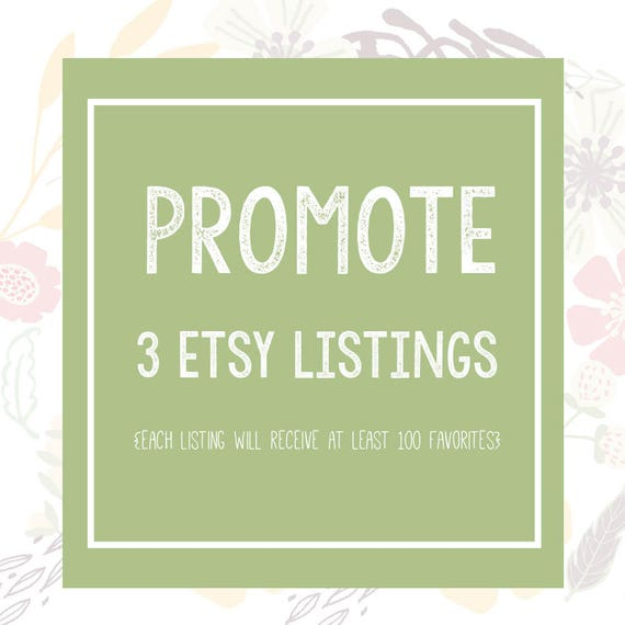 etsy promotion 100 etsy favorites etsy shop listing etsy etsy rh etsy com