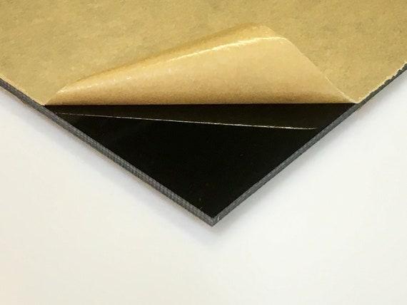 "CNC PRECISION CUT PLEXIGLASS//ACRYLIC  SHEET BLACK OPAQUE #2025 1//8/"" X 6/"" X 6/"""