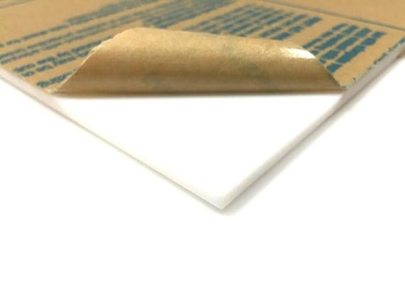 White Acrylic Sheet # 3015 - 1/8