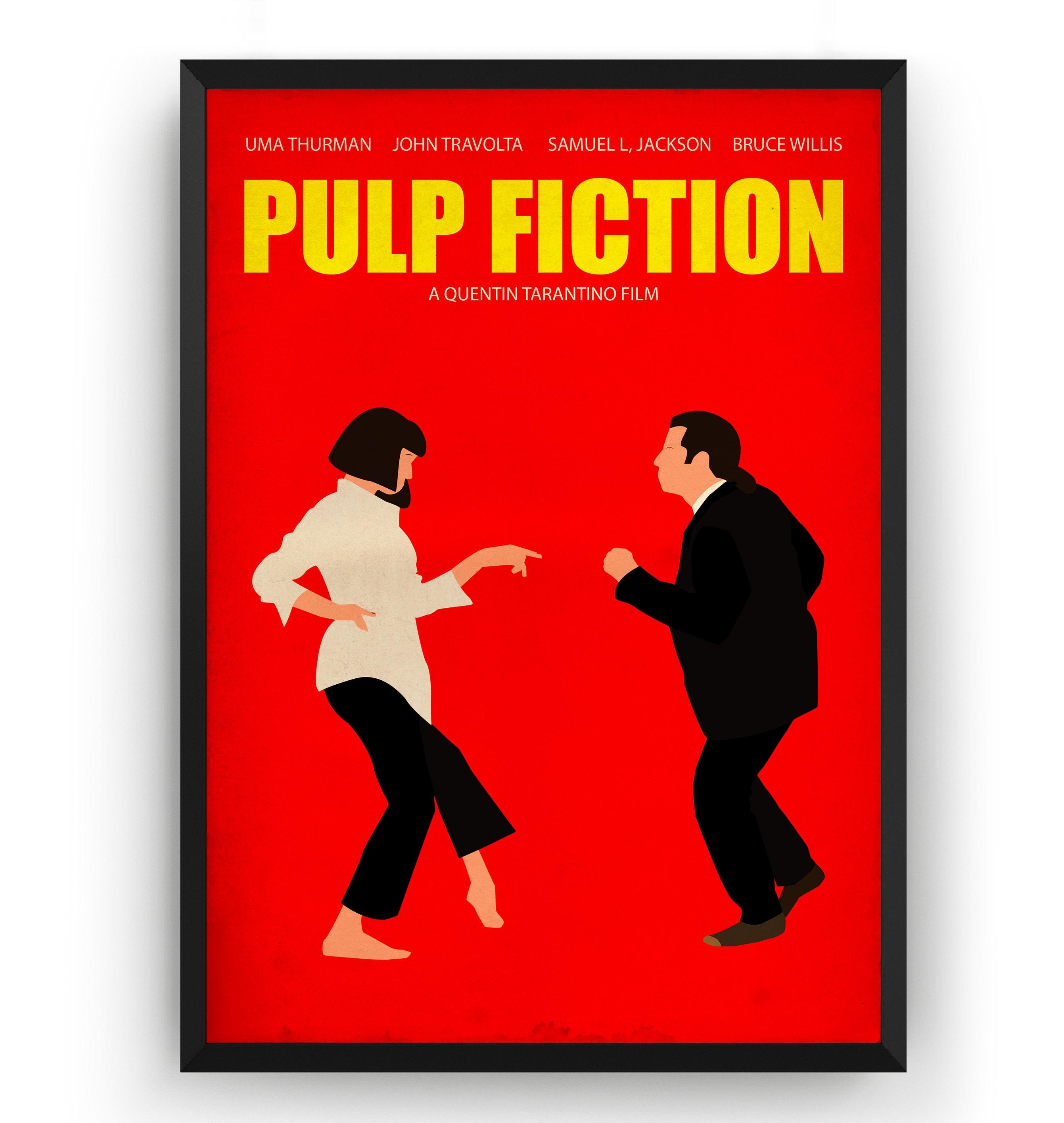 Pulp Fiction Print Art Poster