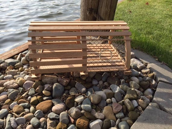 Excellent New Half Round Wooden Lobster Trap Handmade Designed From 1960 Vintage Cage Nautical Theme Landscape Card Box Wood End Table Crab Trap Machost Co Dining Chair Design Ideas Machostcouk