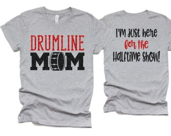 Band Mom T-Shirt High Quality Hand Made in USA Unisex Tees Fade Resistant