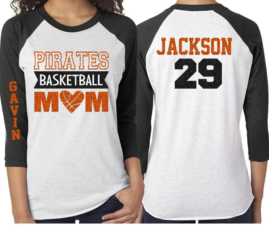 10bb2a628cf Glitter Basketball Mom Shirt   That's My Boy   Customized 3/4 Sleeve Raglan    Basketball Shirt Grandma, Aunt, Stepmom