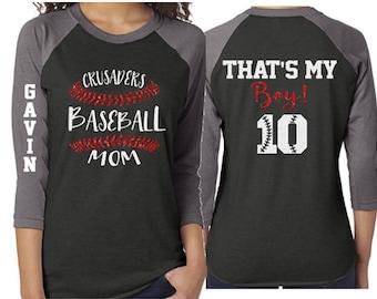Glitter Baseball Mom Shirt | Baseball Shirts | Baseball Mom Shirts | Baseball Laces Shirt | Glitter Baseball Stitch Mom | Customize